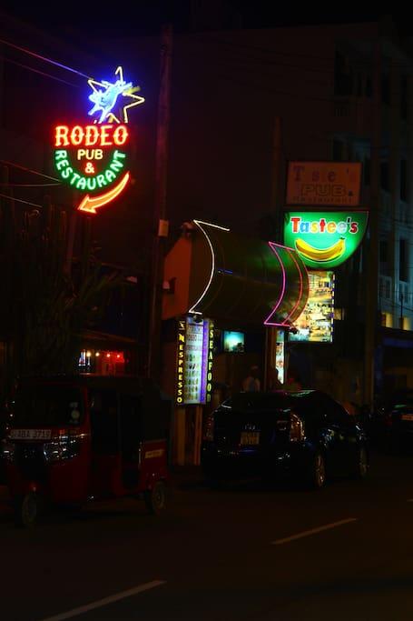 Nearby Restaurents