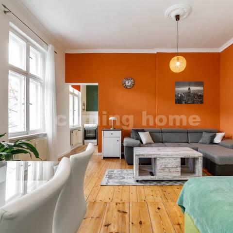 Bright Studio Apartment in sharing