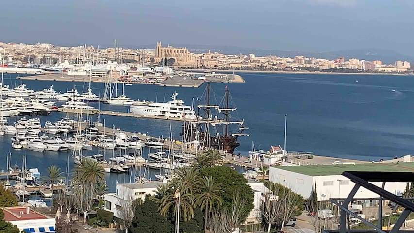 BEST VIEW TO PALMA MALLORCA WHEN YOU GETAWAY2SPAIN