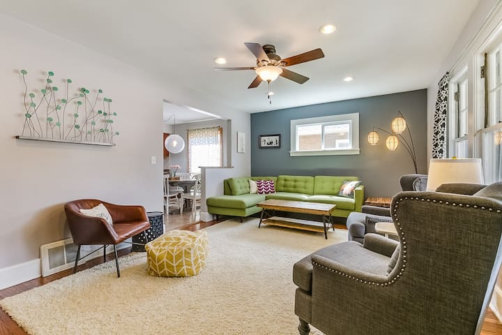 Comfortable and Stylish Near The Lake - Kenosha - Hus