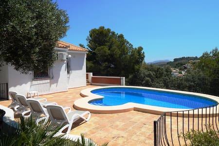 Villa Amistad,aquí  tu mirada llegará hasta el mar - Orba - Chalet