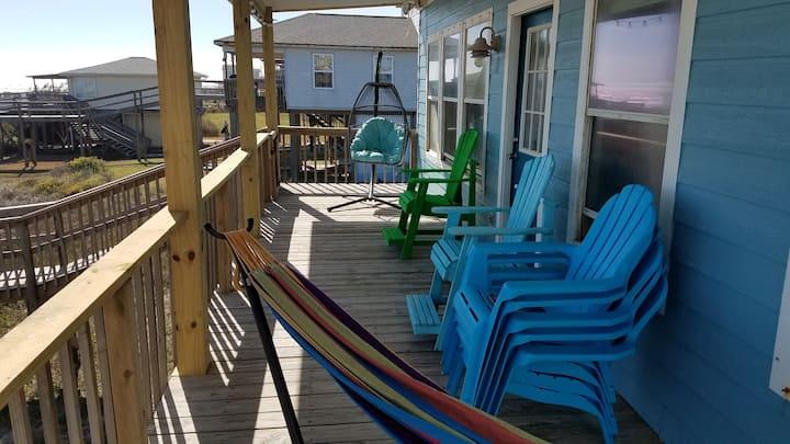 Sun Kissed Retreat, Front row Beachfront