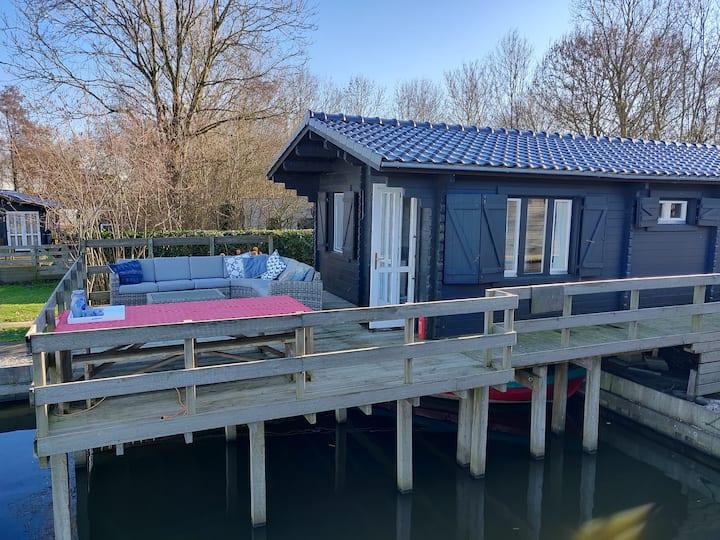 Marina House With Boat