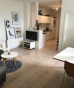 Dejlig og lys lejlighed og rummelig - Aarhus