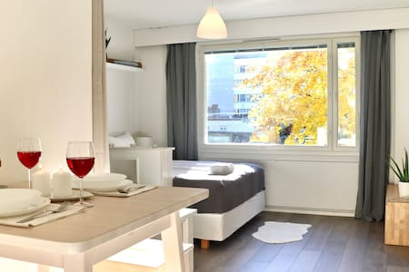 ★A Beautiful Cityhome With Queen Beds 37m²★