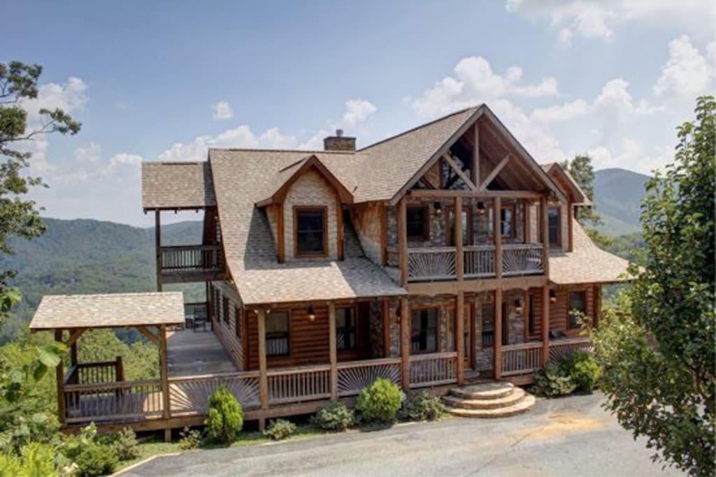 Mlc The Lodge Houses For Rent In Blue Ridge Georgia