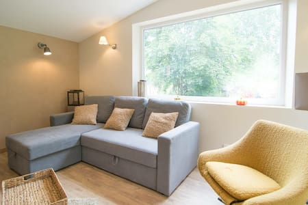 Great countryside flat, fits 4 (+2 on sofa bed)