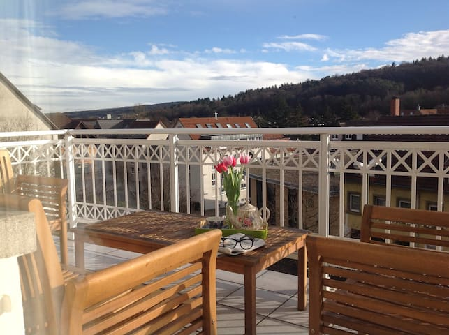 Breathtaking Views Of Blackforest! - Pforzheim - Huis