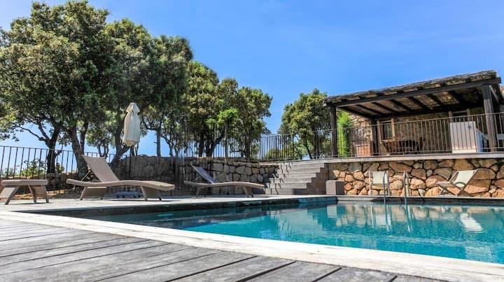 Luxury villa on domain