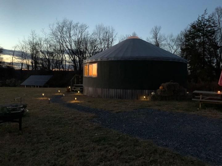 Yurt Sanctuary On Biodynamic Farm