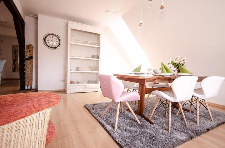 Das Blumenhaus-Apartment Friedrichstadt
