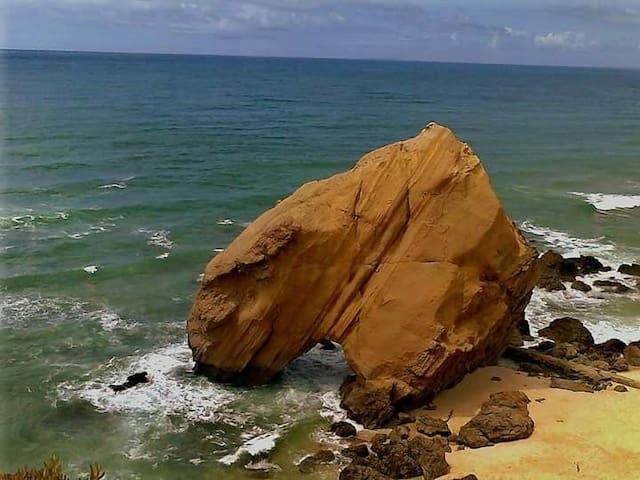 Casa de praia com piscina - Silveira