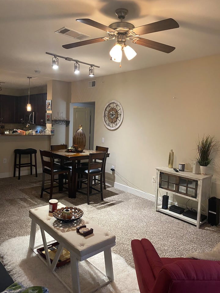 Amazing north Dallas condominium! Very homey feel.