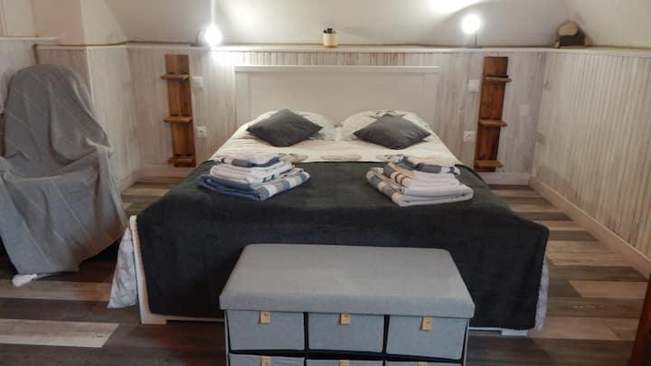 le charmes des chambres de l'escotais