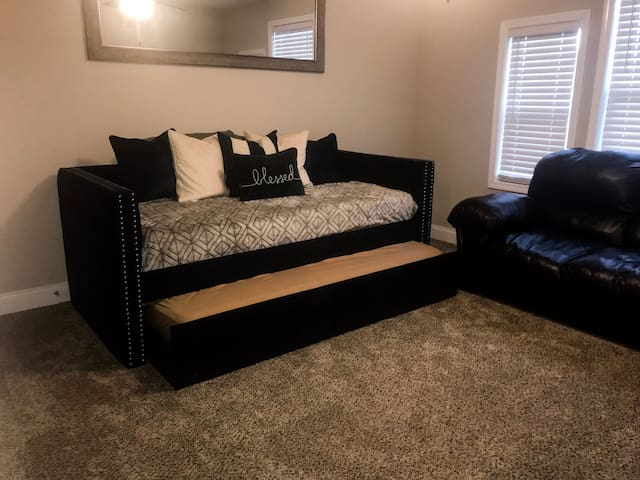 Blue Room Day bed. Two single matress.