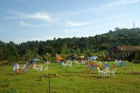 Very rural and natural setup