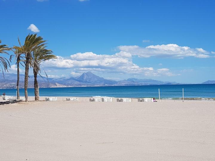 Vistas al mar en Alicante