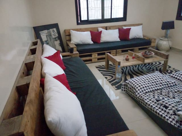 Appartement cozy dans un quartier sympa