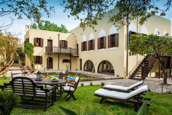 Wine dark sea Lemuria Manor in Rhodes