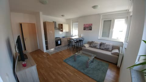 Brand new modern apartment in a quiet environment