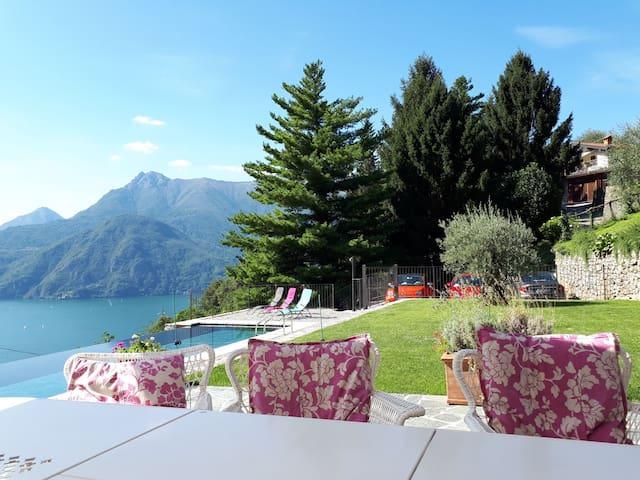 Giardino e piscina Villa Solvi