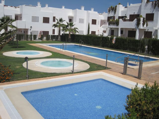 Lovely 135qm Apartment with Pool - San Juan de los Terreros