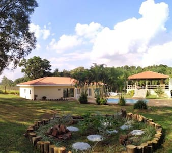 Hostel in a country house, close of  UFSCAR.