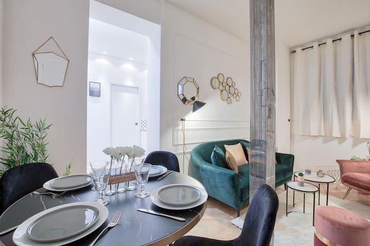 ♥ Chic Apartment near Arc Triomphe - 4P