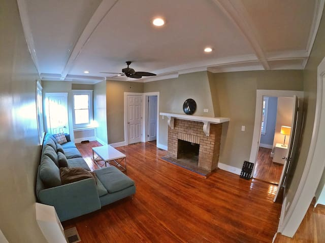 Beautiful single family home and large yard