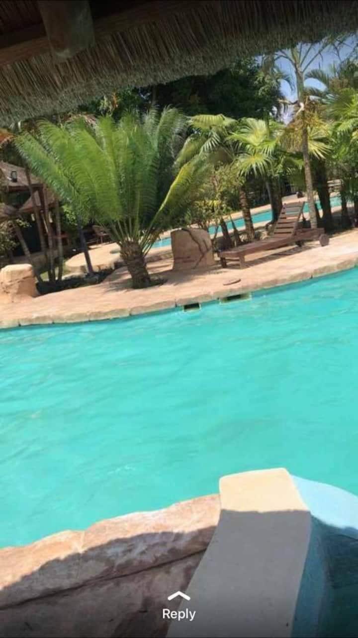 Resort Bantu- o local ideal para sua estadia