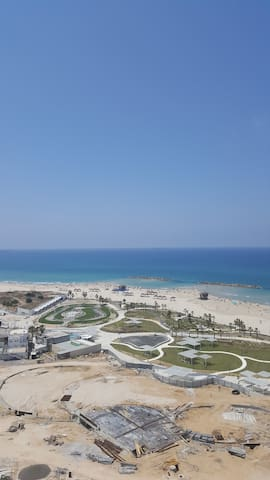 Apartment on the beach!