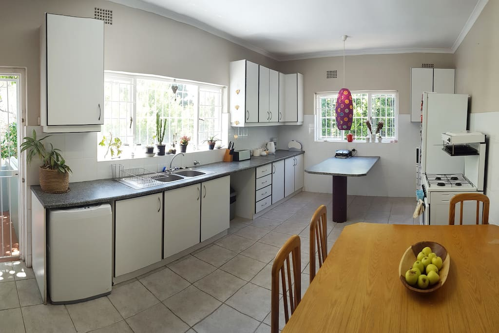 Large kitchen with all basic amenities