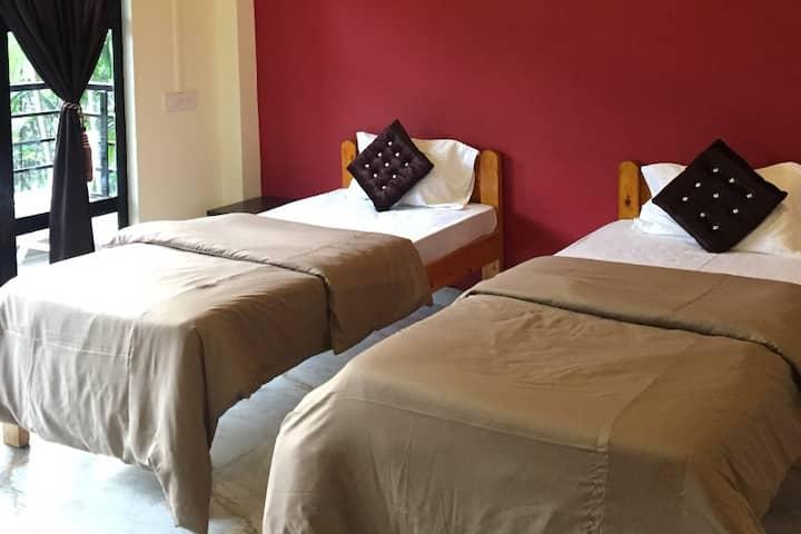 Betelnut Resort-Twin bed