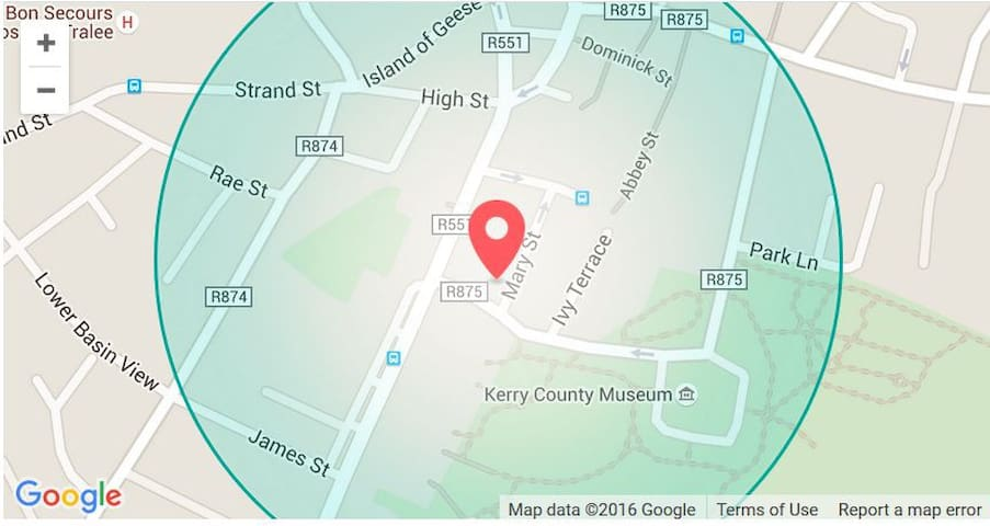 Tralee Holiday Lodge, Mary Street, Tralee.