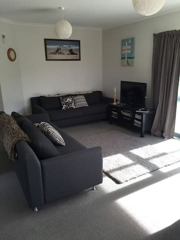 2 x 3 seater couches , has Tv & DVD , few DVDs here plus books & magazines