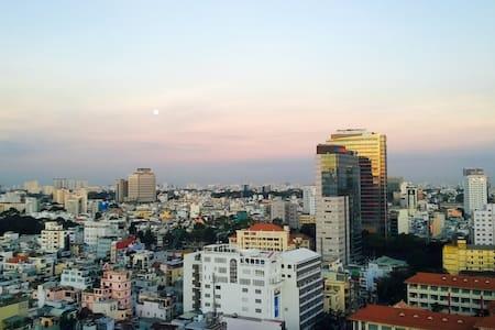Dist.1 87m2 apartment (city view) - Apartment