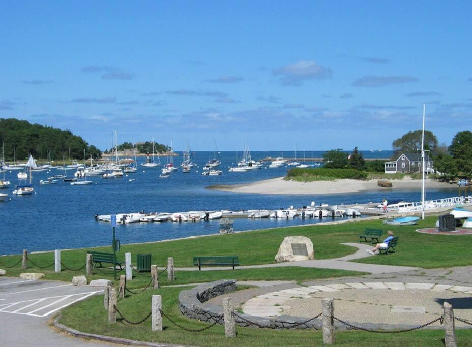 Picturesque Cohasset Harbor