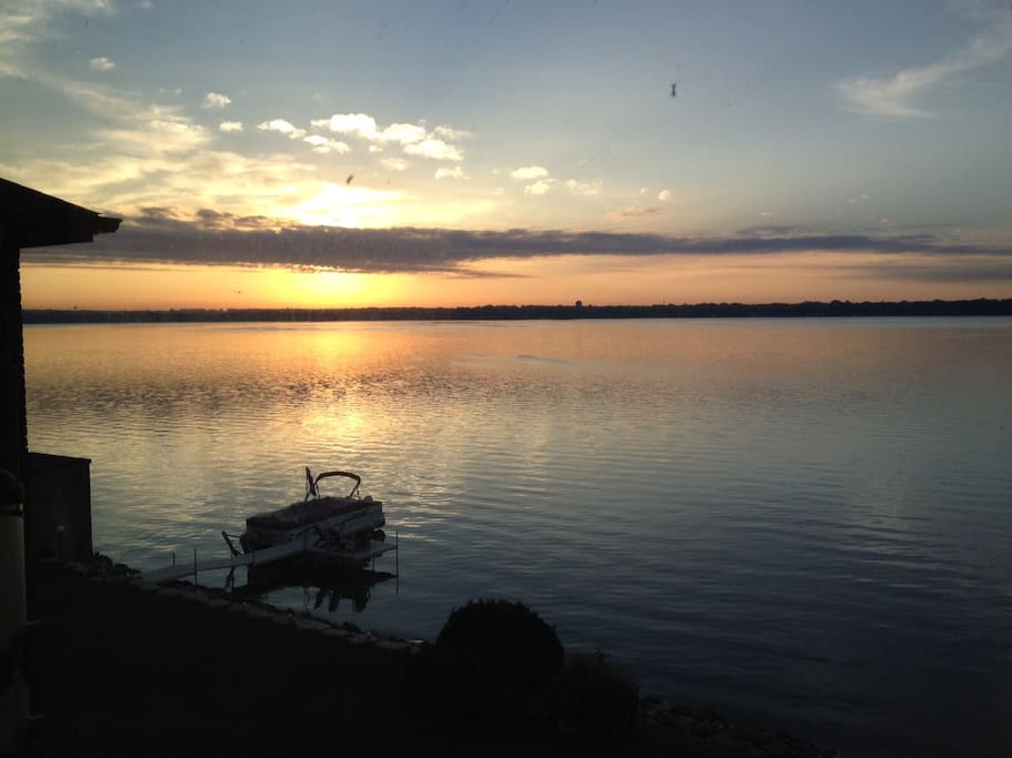 Rising with the sun is a great reminder of how wonderful life is on the lake!