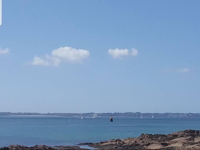 F3 avec magnifique vu mer