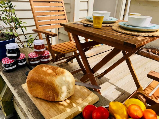 Have A Delicious Breakfast in our Beautiful Garden