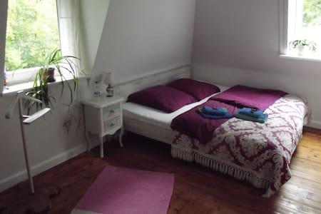 Zweites Zimmer im Haus mit See - Drage