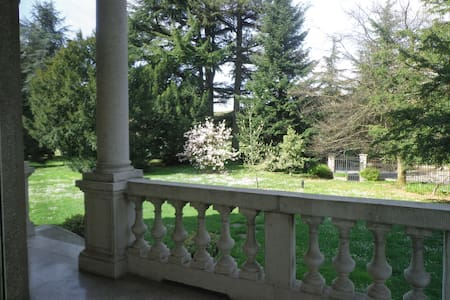 Villa Liberty in Franciacorta - Ome - Annat