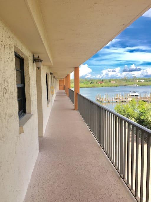 Views from the front door