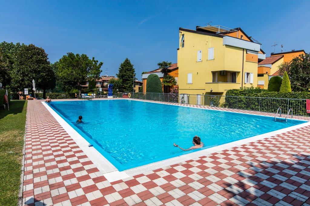 Casa antonia lago terme piscina tutto vicino for Piccoli piani casa sul lago con soppalco