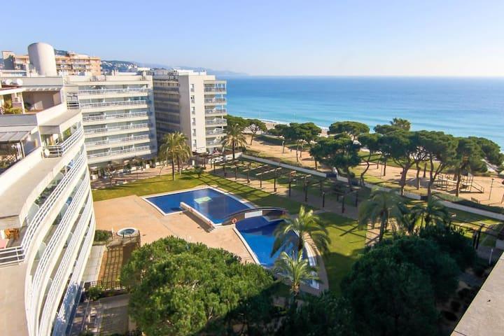 Apartamento 55m2, con piscina