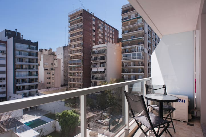 Amazing new studio in Recoleta with pool & laundry