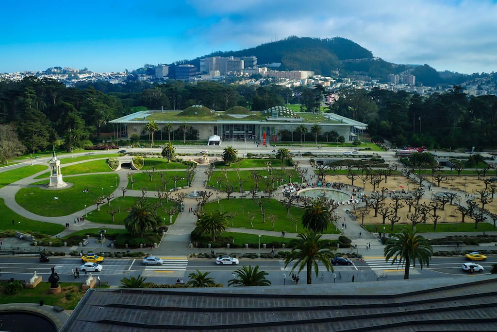 Inner Sunset: Golden Gate Park: Academy of Sciences