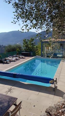 NICE Villa au calme avec très belle vue - Saint-André-de-la-Roche