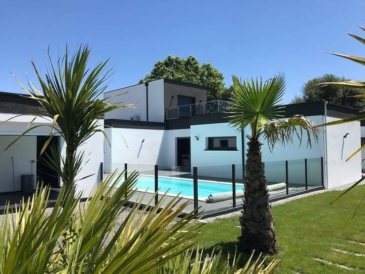 Superbe villa moderne à 25 min d'Hossegor