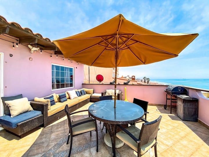 Seascape Beach House in Rosarito ☀️🌊🏝🌅